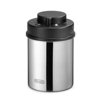 vacuum coffee canister DLSC silver