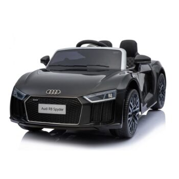 v ride on audi r spyder black