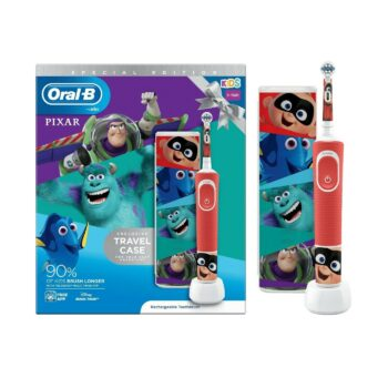 oral b kids  years pixar travel case special edition