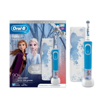 oral b kids  years vitality special edition frozen  travel case
